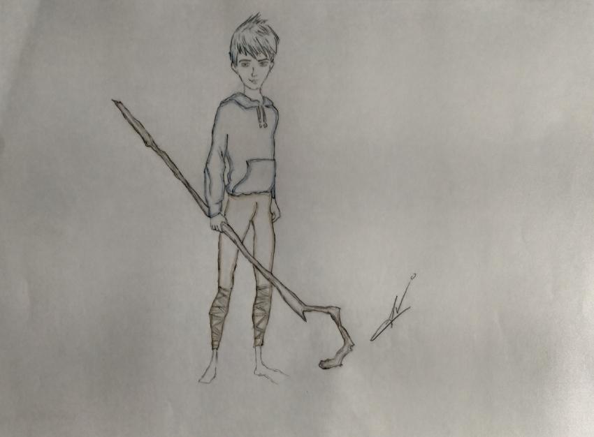 Jack Frost por Nereaaj